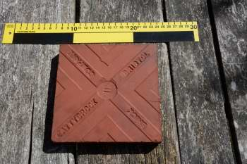 Tile made by Cattybrook Brick