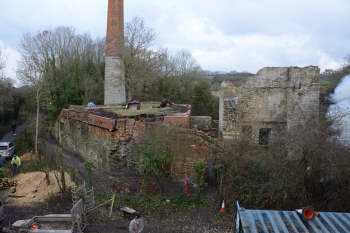 Old pit from top of Horizontal Engine House